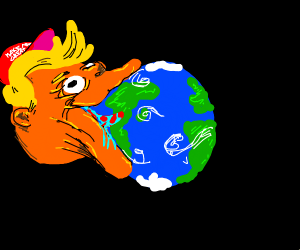 Planet trump takes over the Planet Earth