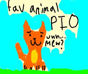 fav animal PIO