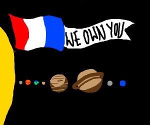 France Has Taken Over The Solar System