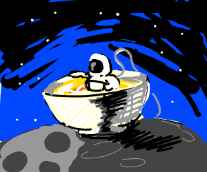 Astronaut in my Soup