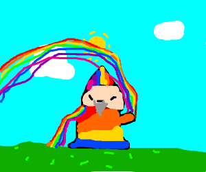 Rainbow wizard!