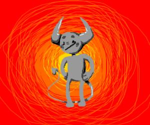 gray devil