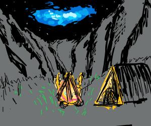 minimalist camping