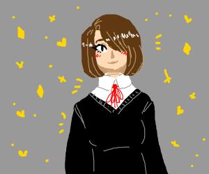 Cute girl in uniform
