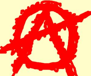 Fuzzy anarchy symbol