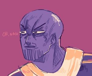 Angry Thanos