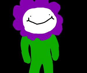 a odd1sout purple flower