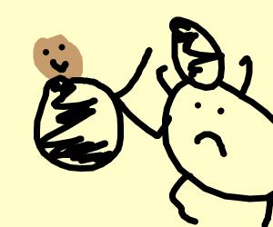 Vriska spanking John