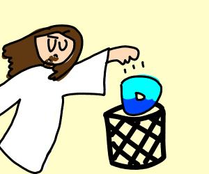 God puts Drawception in the Trash