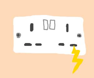 an electrical socket