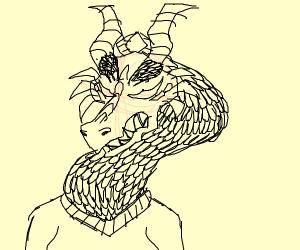girl with dragon head