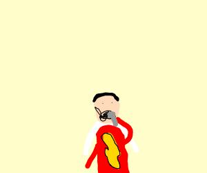 Shazam shaving
