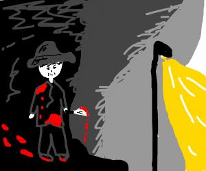 Serial killer in the shadows