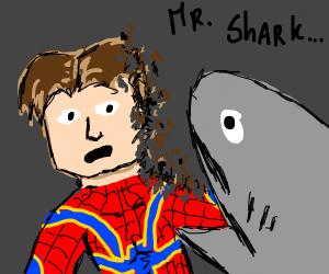 Mr. Shark... I don't feel so good...