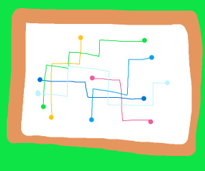 Abstract art or subway map? You decide!