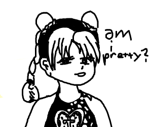 Jolyne asking you if she is pretty