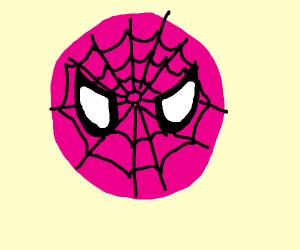 Pink Spiderman