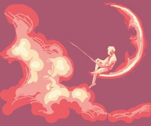Dreamworks guy be fishin'