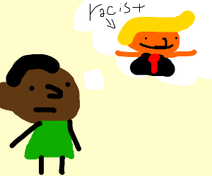 dreaming of racist person