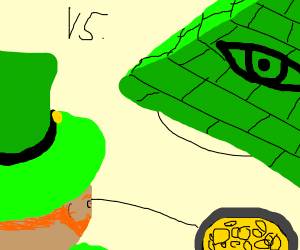 Leprechaun vs the Illuminati