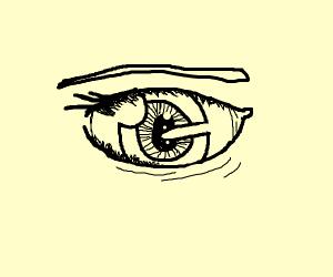 really detailed anime eye