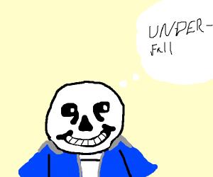 Sans thinks about parallel universes