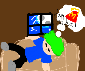 Dreaming about happy meal