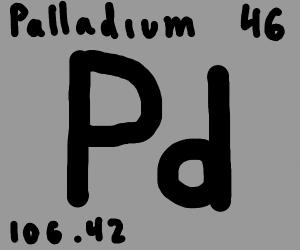 46 palladium ( pd )