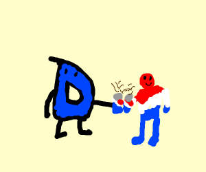 drawception drinks pepsi with pepsiman