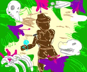 Chocolate Paleontologist