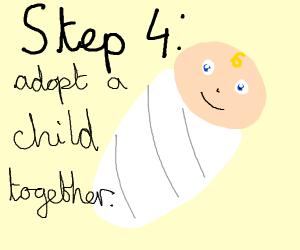 Step 3 get married