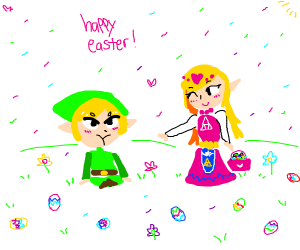 This is why Link doesn't do Easter