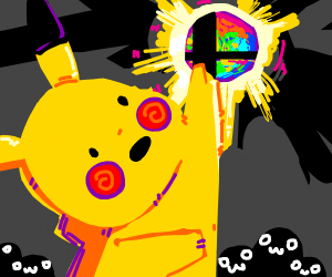 pikachu getting smash orb and everyone is owo
