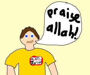 jomon says praise allah!!!!