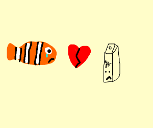 Nemo divorcing Milk
