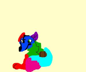 Multicolored Fox