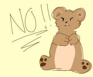 Refusal of the bear