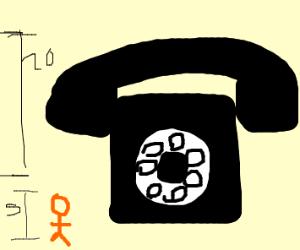 Giant Telephone