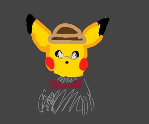 Gentleman Pikachu