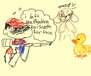 Super Mario Duck Hunt