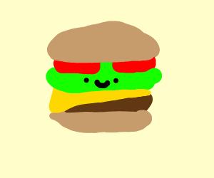 Derpy burger