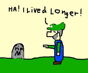 Luigi Out-Lived Mario