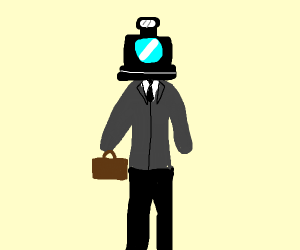 Camera Businessman