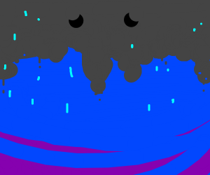 sad raincloud