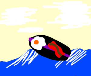 EggsNBacon is quite the good surfer