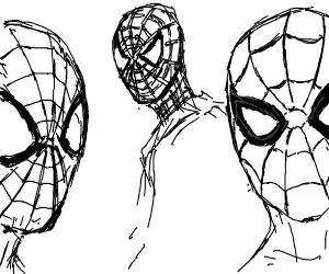 Three Spidermen