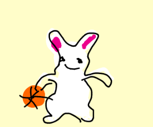 Rabbit Playing
