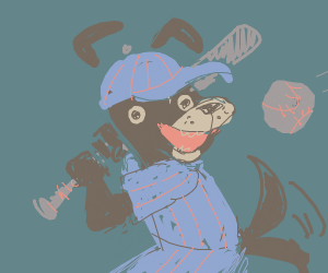 doggo plays ball