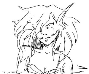 scary mermaid princess