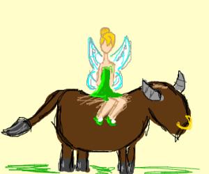 Tinker bell be bull riding bruh